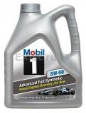 Масло моторное синтетика Mobil 1 5W50 4л