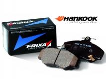 Передние тормозные колодки HANKOOK FRIXA на ВАЗ / Лада Приора, Калина, Гранта без отверст. под датчик (арт. FPE103)