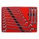 Набор накидных и разрезных ключей МАСТАК 5-23112, 12 предметов
