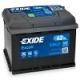 Аккумулятор EXIDE Excell EB621 12V 62Ah 540A L+