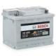Аккумулятор BOSCH S5 Silver Plus 563 400 061