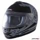 Шлем (интеграл) MI 120 Черный матовый Тип 13 S MICHIRU