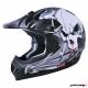 Шлем (кросс) MC 120 Черный матовый Тип 22 XS MICHIRU