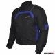 Куртка мотоциклетная (текстиль) City черно-синий S MICHIRU