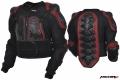 Куртка защитная (черепаха) Protection Jacket черно-красный S MICHIRU