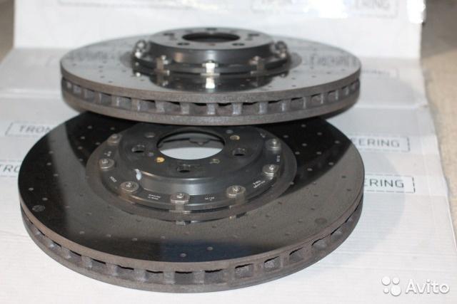 Карбон-керамические тормозные диски bmw M4/M3 F82 б/у