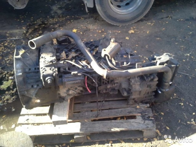 Механическая кпп DAF (Даф) XF 95.480 (ZF 16S-221)