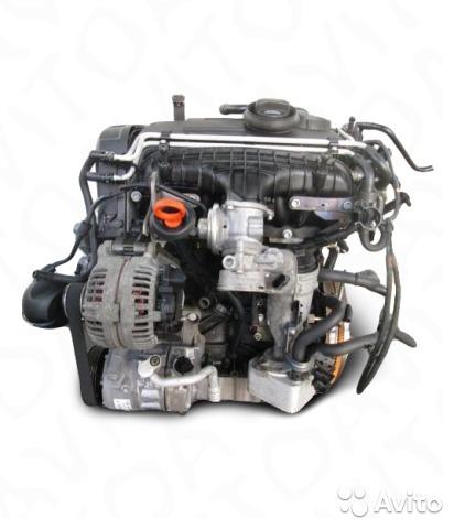 Двигатель BKD Skoda Octavia 2.0л. 140л.с
