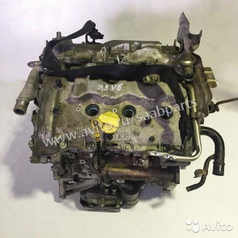 Двигатель Saab 9-3 B284 в сборе