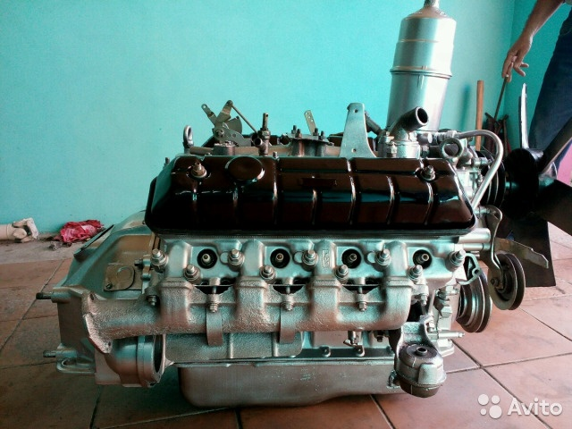 Двигатель в сборе ЗМЗ-511 для Волги после капремонта
