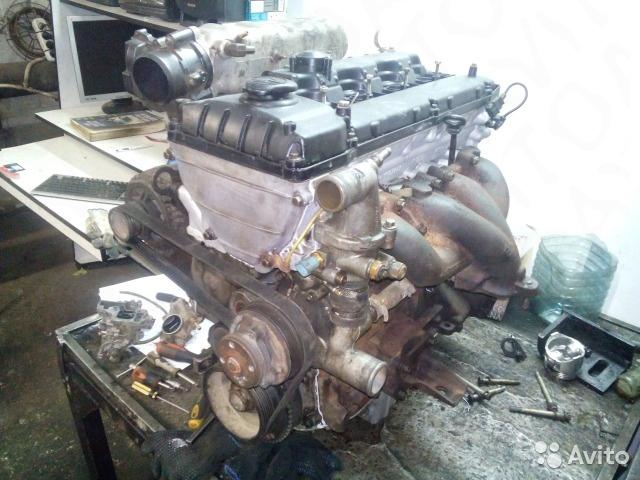 Двигатель ЗМЗ-405 после капремонта