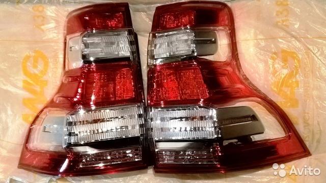 Задние фонари Toyota Land Cruiser Prado 150 рестайл оригинал