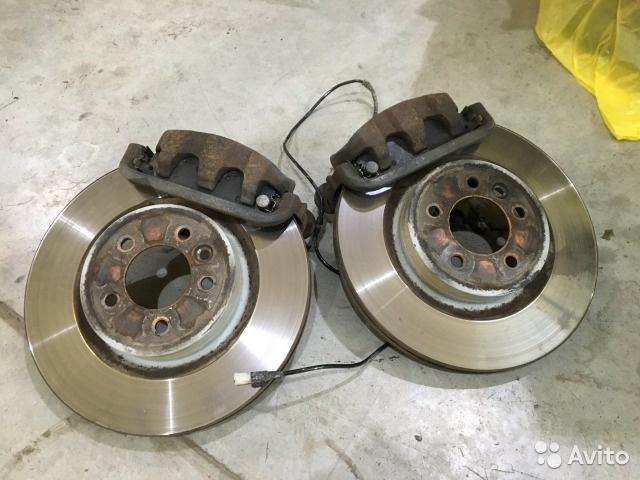 Тормозные диски и колодки Range Rover Sport б/у