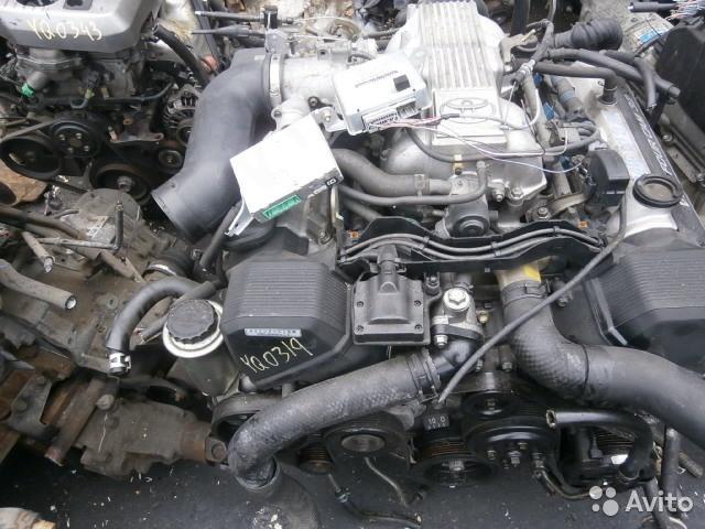 Двигатель на Toyota Celsior 2WD 1UZ-FE 1996 год