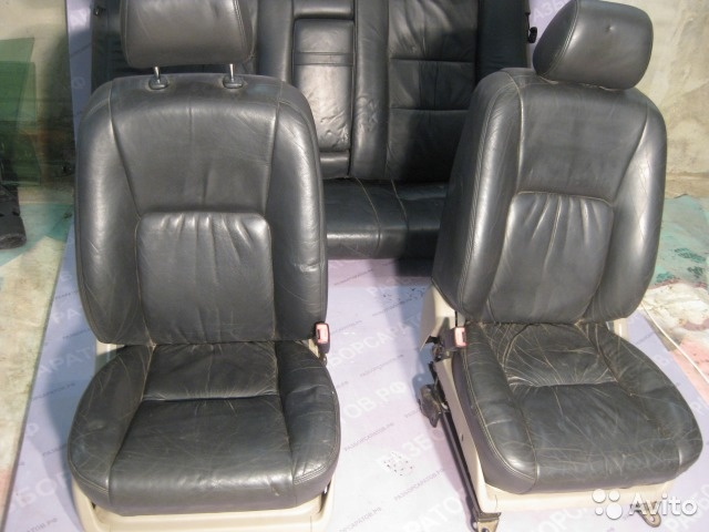Сидения (салон) Тойота Камри 30 кожа