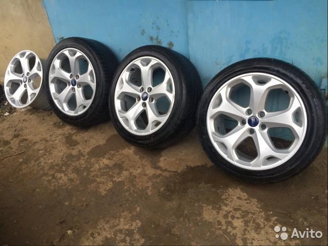 Оригинальные колеса на Ford Mondeo (Форд Мондео)