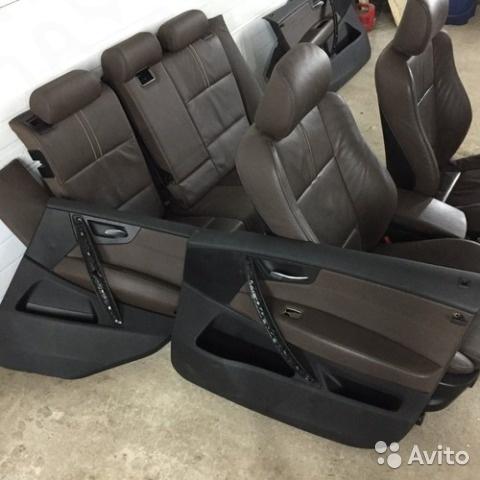 Комплект сидений и обшивок дверей BMW X3 E83