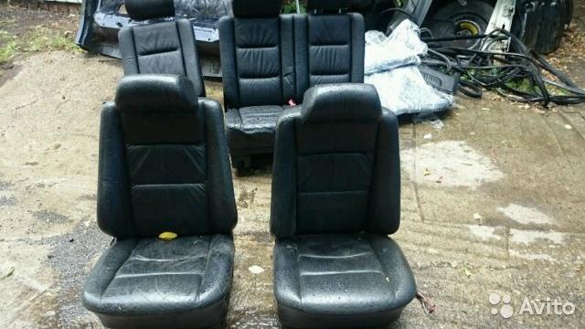 Салон Mercedes-Benz G W463 чёрная кожа