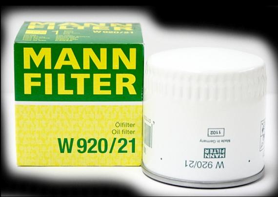 Фильтр масляный MANN W920/21