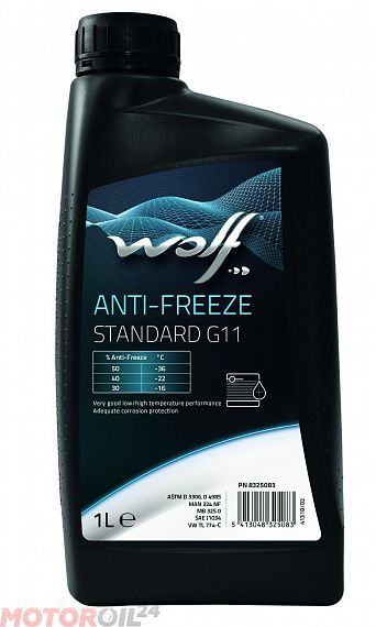 Антифриз WOLF Anti-Freeze Longlife G11 1л