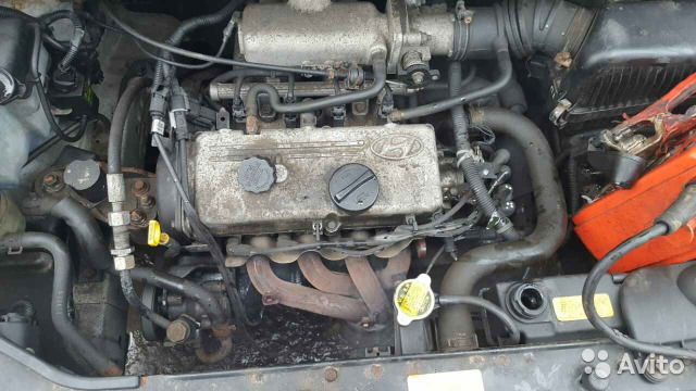 Контрактный двигатель Hyundai Getz 1 G4HD
