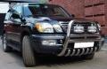 Кенгурятник из нержавеющей стали для доп. фар Lexus LX470
