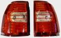 Оптика задняя светодиодная хрустальная (комплект) Мицубиси Паджеро 4