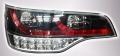 Фонари задние чёрные светодиодные для Audi Q7 (комплект)