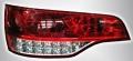 Фонари задние светодиодные красные хрустальные Audi Q7 (комплект)