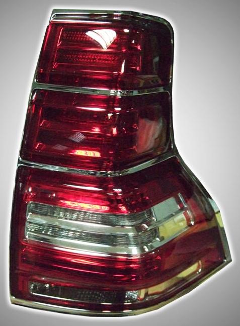 Фонари задние светодиодные хрустальные (комплект) Toyota Land Cruiser Prado 150