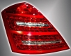 Оптика задняя светодиодная хрустальная в стиле Maybach (комплект) для Mercedes-Benz W221