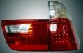 Оптика задняя светодиодная хрустальная (комплект) для БМВ Х5 Е53