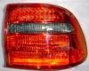 Оптика задняя светодиодная тонированная для Порше Кайен (комплект)