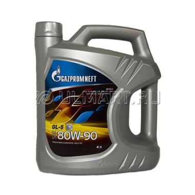 Трансмиссионное масло Gazpromneft GL-5 80w90, 4л