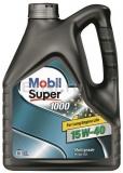 Масло моторное минеральное Mobil Super 1000 X1 15W40 4л