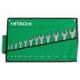 Набор рожковых гаечных ключей Hitachi 12 предметов в скрутке, HTC-774021