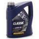 Моторное масло Mannol Classic 10W40, 4 л, полусинтетическое