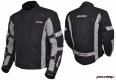 Куртка мотоциклетная (текстиль) Town Racer черно-серый S MICHIRU