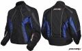 Куртка мотоциклетная (текстиль) Summer Metropolis черно-синий S MICHIRU