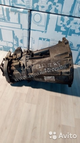 Контрактная мкпп на VW Crafter 2,5TDI c 06г