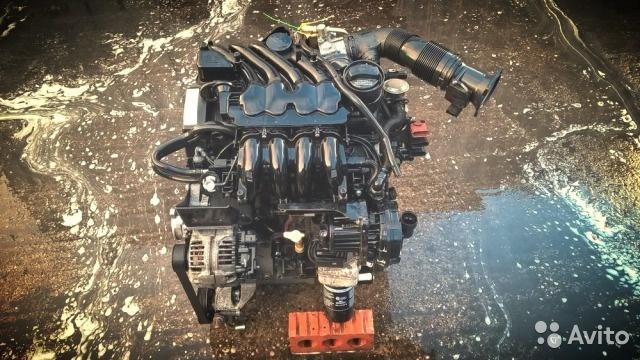 Двигатель AKL AEH 1.6 Гольф 4 Golf Бора