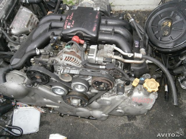 Двигатель Субару Трибека EZ30, в сборе