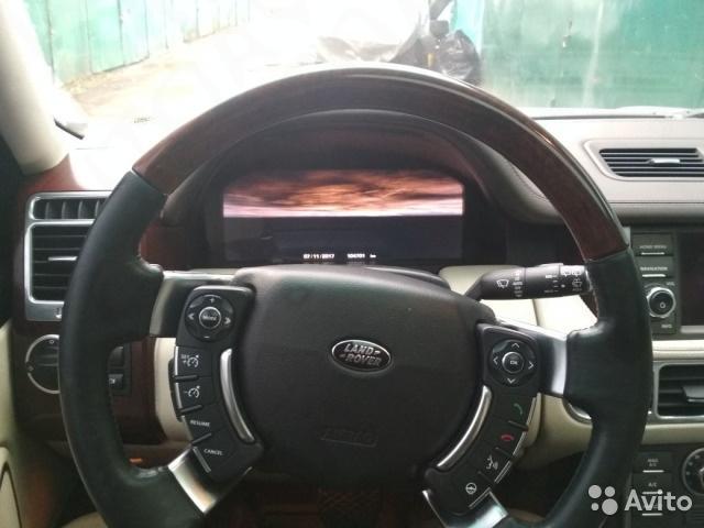 Руль на Range Rover Vogue