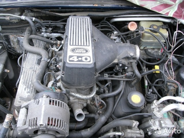 Двигатель Range Rover 4.0Л 1994-2003г