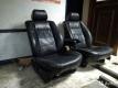 Передние сиденья BMW e32/e34 чёрная кожа