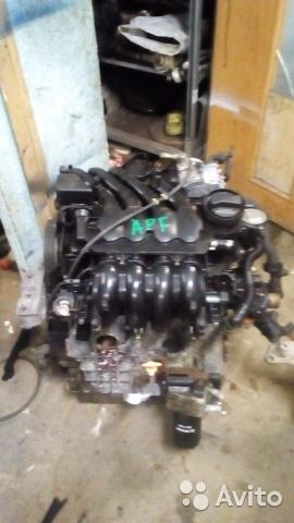 Двигатель Audi (Ауди) APF 1.6