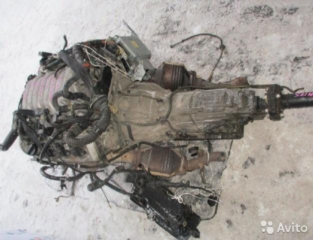 Двигатель Тойота 1UZ-FE в сборе