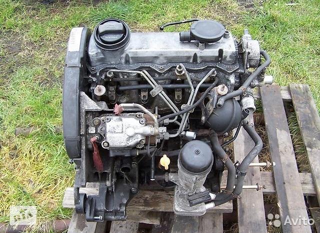 Двигатель для Audi A3 (8L1) 1996-2003 1.9TDI ALH