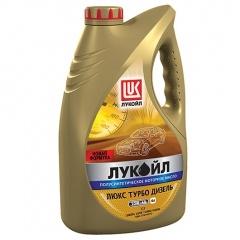 Полусинтетическое моторное масло Лукойл Люкс Турбо Дизель 10W-40 (4л)