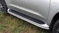 Защита порогов 42,4 мм Lexus LX570